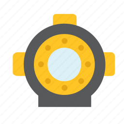 aqualung, diving, marine, nautical, sea, suit icon