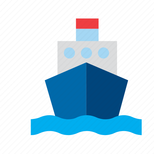 cargo, marine, nautical, sea, ship icon