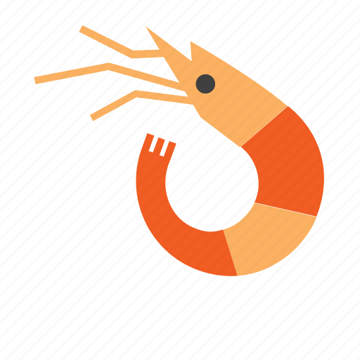 animal, marine, nautical, prawn, sea, seafood, shrimp icon
