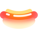 hot, dog, kitchen, restaurant, fast, food, market icon
