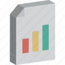 analytics, bar graph, business report, graph report, line graph, report, statistics icon