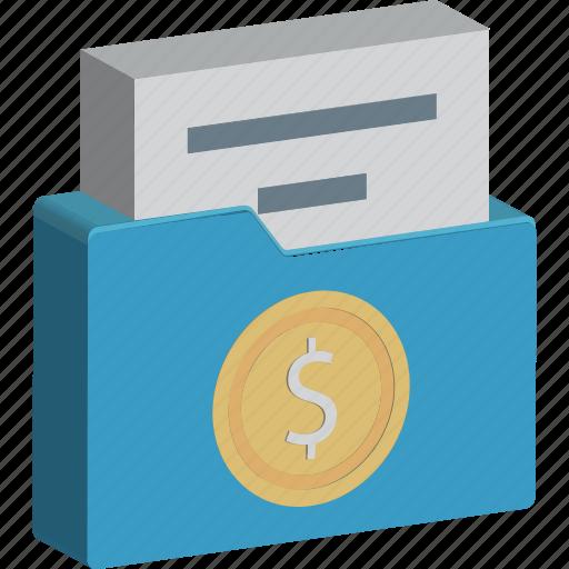 business folder, documents, documents folder, file storage, files icon