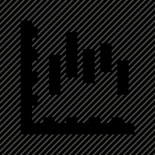 bar chart, bar graph, seo analytics, seo graph, seo rating icon
