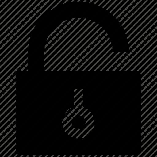 encryption, open, padlock, secure, security, unlock icon