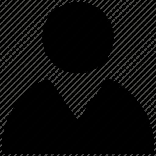 employee, man, person, profile, user icon