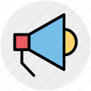 announcement, loud, megaphone, multimedia, sound, speaker icon