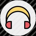 ear buds, ear speakers, earphones, gadget, headphone icon