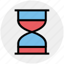 clepsydra, deadline, hourglass, sand, time, timer icon