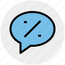 arrow, arrows, chat, divided, message, sell icon