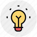 bulb, idea, lamp bulb, light, light bulb, tips