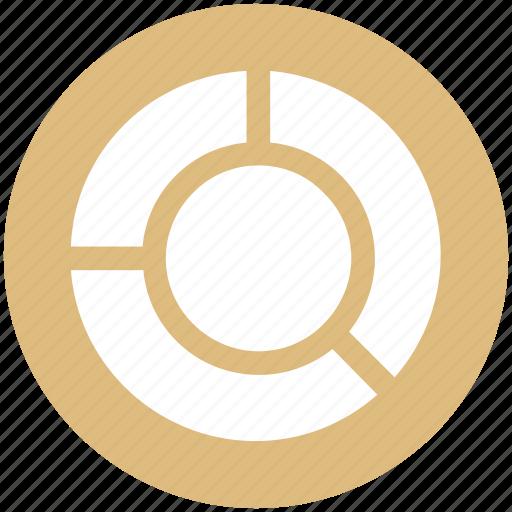 chart, graph, pie, pie chart icon