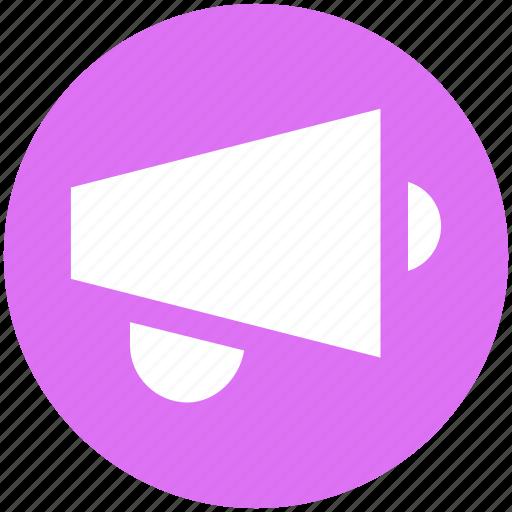 Announcement, loud, megaphone, multimedia, sound, speaker icon - Download on Iconfinder