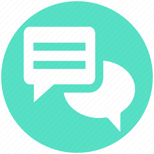 Chat, conversion, message, sms, text icon - Download on Iconfinder
