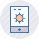 gear, marketing, mobile, mobile setting, smartphone icon