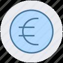 banking, cash, economy, euro, price, sale icon
