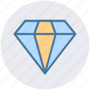 brilliant, crystal, diamond, diamonds, jewelry, value icon