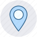 gps, location, location pin, map, navigation icon