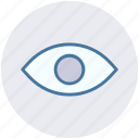 eye, show, view, visibility, visual icon