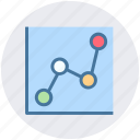 analytics, business, chart, graphs, presentation icon, statistics