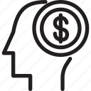 business, costs, economics, employee, market, morden icon