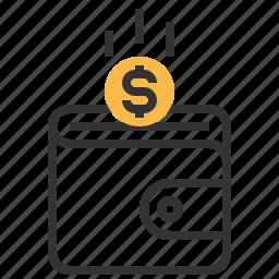 budget, business, cash, dollar, finance, money icon