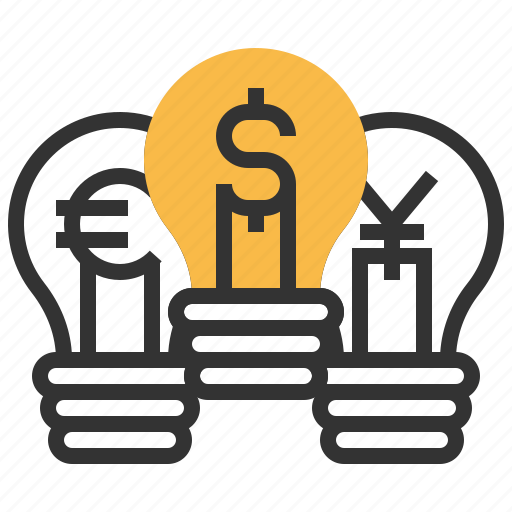 business, currency, dollar, financial, idea, money icon