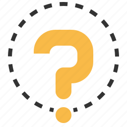 ask, faq, information, question, sign icon