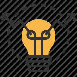 business, finance, idea, marketing, optimization icon