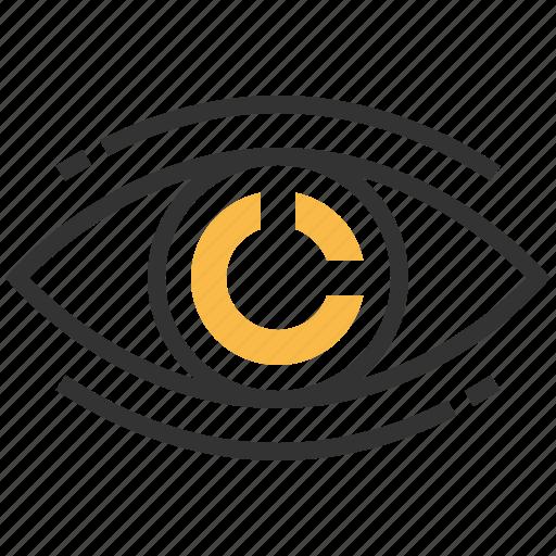direction, market, navigation, pointer, vision icon