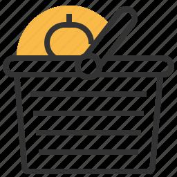 basket, business, ecommerce, money, shopping icon