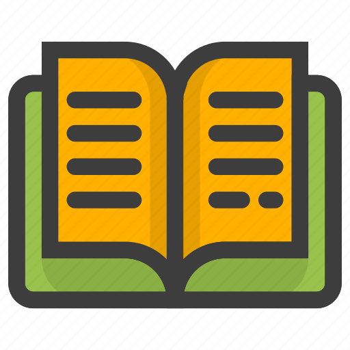 address, book, education, learning, read, reading, study icon