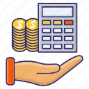 accounting, budget, economics, payment, planning icon