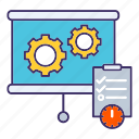 economics, plan, planning, schedule, strategy icon