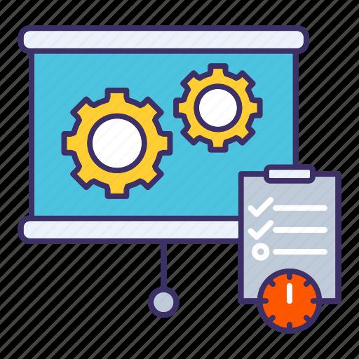 economics, plan, planning, schedule, strategy icon