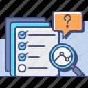 ad, hoc, marketing, seo, surveys icon