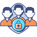 customer, data, protection, research icon