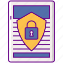 document, lock, policy, privacy