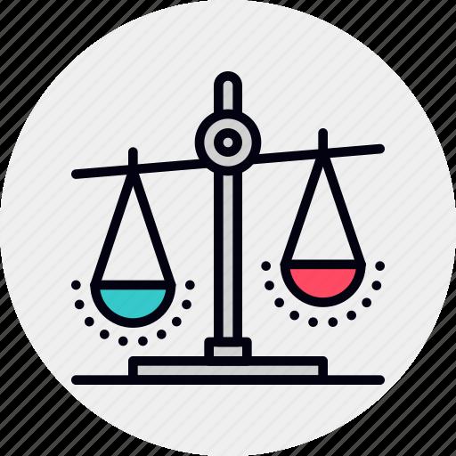 balance, prevalence, score icon