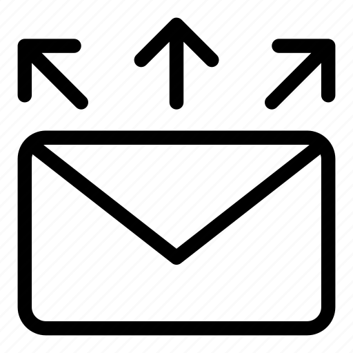 document, mail, mailing, received, send, sent, spam icon