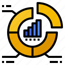 chart, research, segmentation, statistic, website icon