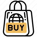 buyer, checkout, habit, product, shopping icon