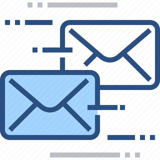 dispatch, email, informing, letter, marketing, post, send icon