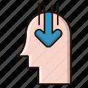 head, idea, marketing, opinion, public icon
