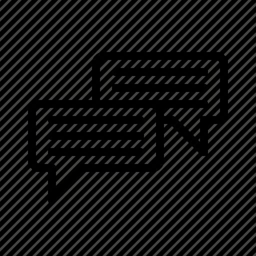 box, chat icon