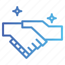 agreement, cooperation, handshake icon