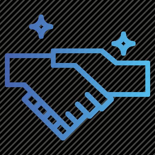 Agreement, cooperation, handshake icon - Download on Iconfinder