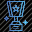 trophy, winner, cup