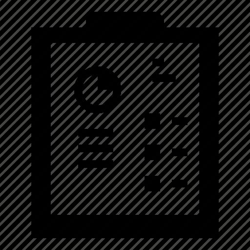 document, files, profits, report, stats icon