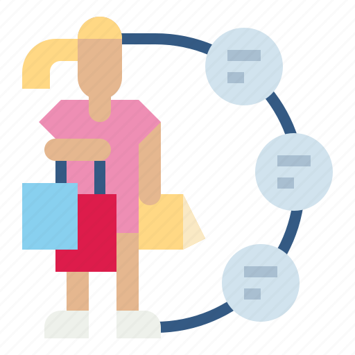 client, customer, document, individual, profile icon