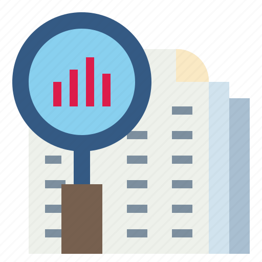 Analysis, magnifier, research, search, statistics icon - Download on Iconfinder